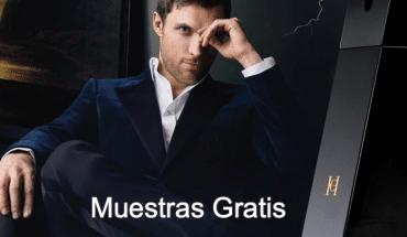 Muestras gratis Carolina Herrera Men