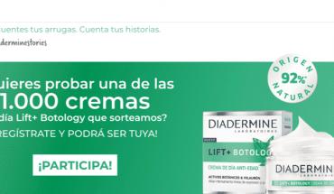 muestras gratis Diadermine