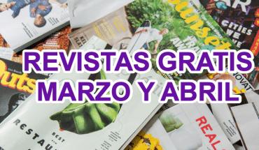 Revistas gratis Marzo y Abril