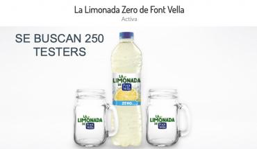prueba gratis limonada Font Vella