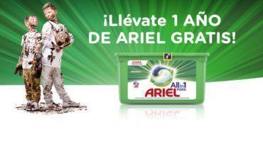 1 año Ariel gratis