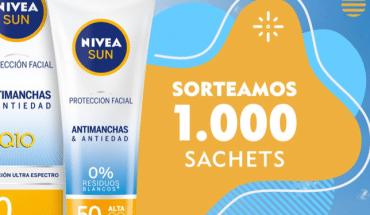 muestras gratis Nivea Sun
