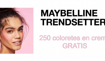 colorete Maybelline gratis