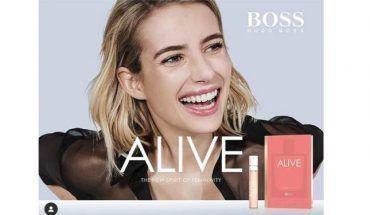 muestras gratis Alive Hugo Boss