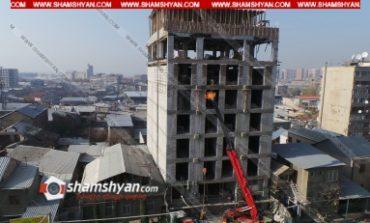 Արտակարգ դեպք Երևանում. 19-ամյա տղան շինարարական աշխատանքներ կատարելիս՝ 6-րդ հարկից վայր է ընկել