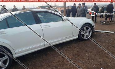 Շիրակի մարզում հարսն ու փեսան հարսանեկան Mercedes-ով վթարի են ենթարկվել. կա վիրավոր