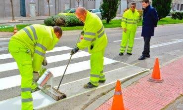 Así lucen 37 calles de Torrejón tras los trabajos de mejora de la señalización horizontal