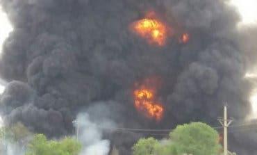 AL MINUTO! Explosión en una planta química de Arganda del Rey