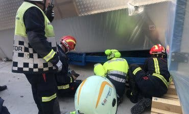 Grave accidente laboral en Algete