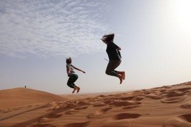 alleinerziehend auf Weltreise und glücklich in Dubai