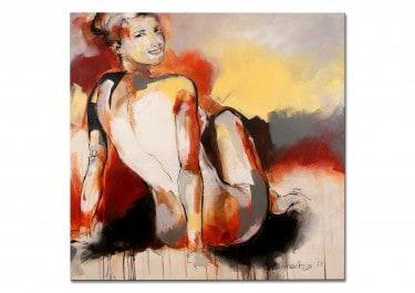 """Abstraktes Aktbild """"have a look"""" von M. Steinacher"""