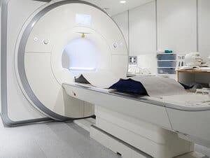 Medical Room with MRI Machine - Defective Drug Gadolinium - Martin, Harding & Mazzotti 1800law1010