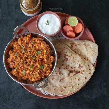 Paneer Bhurji Recipe (Indian Scrambled Cottage Cheese)