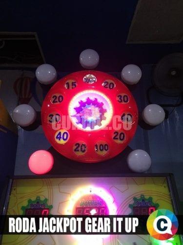 Roda jackpot Gear It Up belum terpecahkan