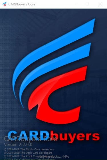 CARDbuyers Windows VPS Masternode Setup
