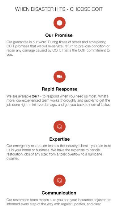 Key COIT benefits