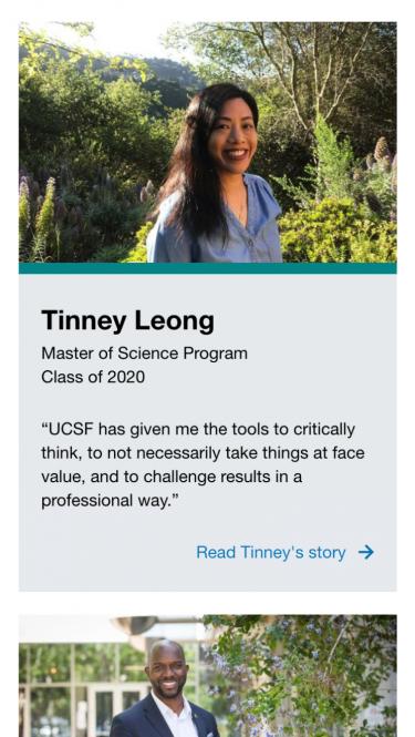 UCSF Nursing Success Stories