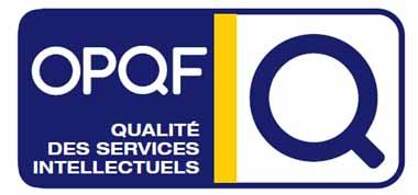 Organisme certifié OPQF label qualité