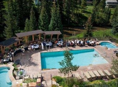 Pool meeting in Vail