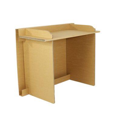 Ekologiczne biurko z tektury - meble z tektury