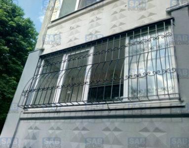 Кованые решетки на балкон Харьков
