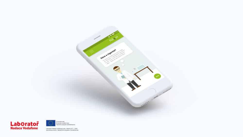 Aplikace pro odvykání kouření Adiquit vznikla vakademicko-klinickém prostředí