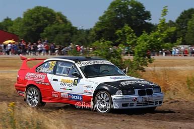 Franky Boulat & Peggy de Busser - BMW M3 - GTC Rally 2018
