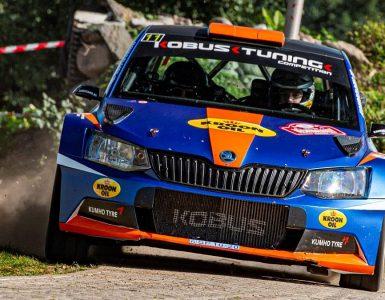 Gert-Jan Kobus & Martin Nortier - Skoda Fabia R5 - Vechtdalrally 2020