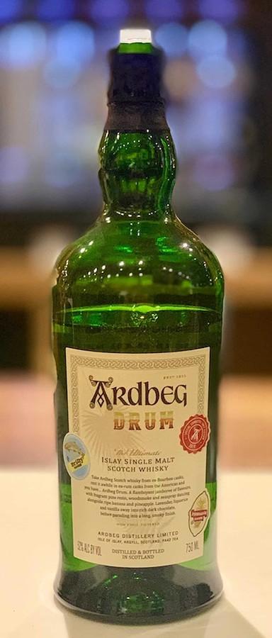 Ardbeg Drum in bottle