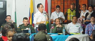 Photo of Encuentro de Seguridad en la comuna 6 de Yopal