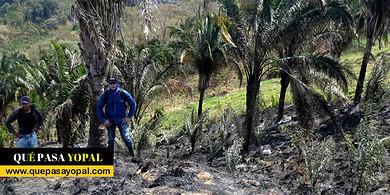 Photo of Equión expresó su preocupación por afectación por incendios forestales