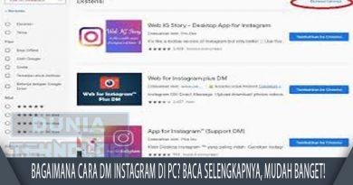 Bagaimana Cara DM Instagram di PC? Baca Selengkapnya, Mudah Banget!