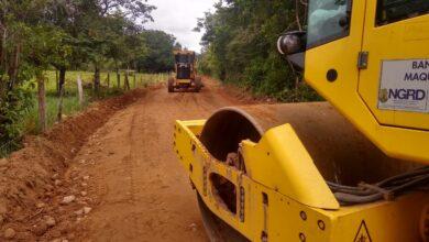 Photo of Mantenimiento de 40 kilómetros de vías terciarias de Hato Corozal