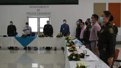Photo of Luis Eduardo Castro presidió mesa de trabajo con altos oficiales de la Policía Nacional