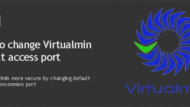 change-virtualmin-port