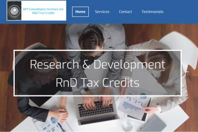 APT Consultancy Services R&D Tax Credits Consultants Liverpool