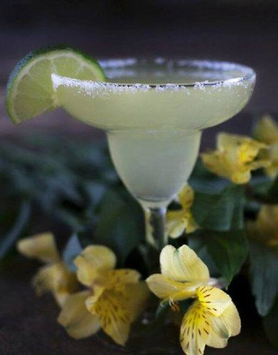 A margarita makes a staycation feel more grown-up