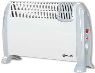 Подов конвектор с вентилатор Елдом 2kW