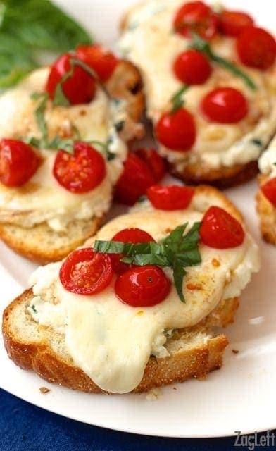 Caprese Toast Recipe | One Dish Kitchen