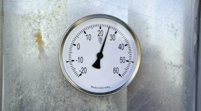 Anzeige der Vorlauftemperatur