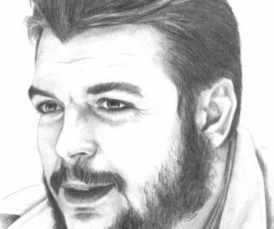 Dibujo de Che Guevara