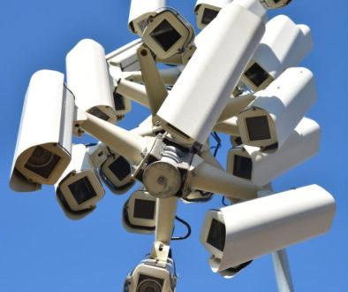 Mogollon de cámaras CCTV