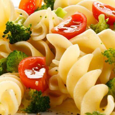 Creamy pasta with Tofu & Veggies