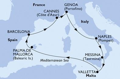 croaziera 2021, msc grandiosa 2021, croaziere mediterana 2021