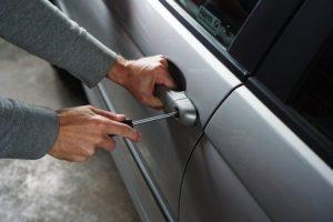 kradzież wynajętego auta