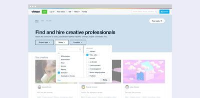 Vimeo's 'For Hire' marketplace connects brands with qualified production talent