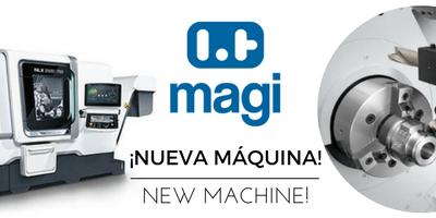 new machine magi pneumatic