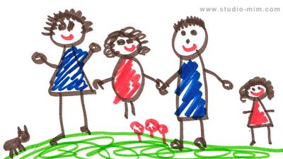 تدوین چیست - نقاشی کودکان