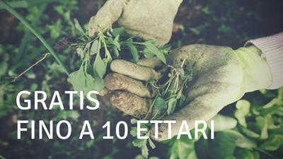 Agricolus free - gratis fino a 10 ettari