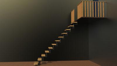 Модульные лестницы на второй этаж в частном